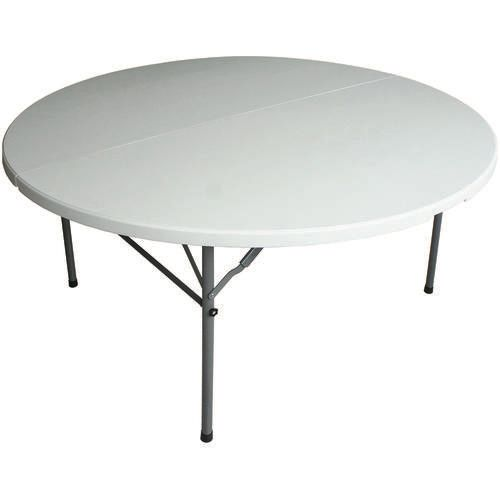 60 Round Resin Fold In Half Table At Menards Round Folding
