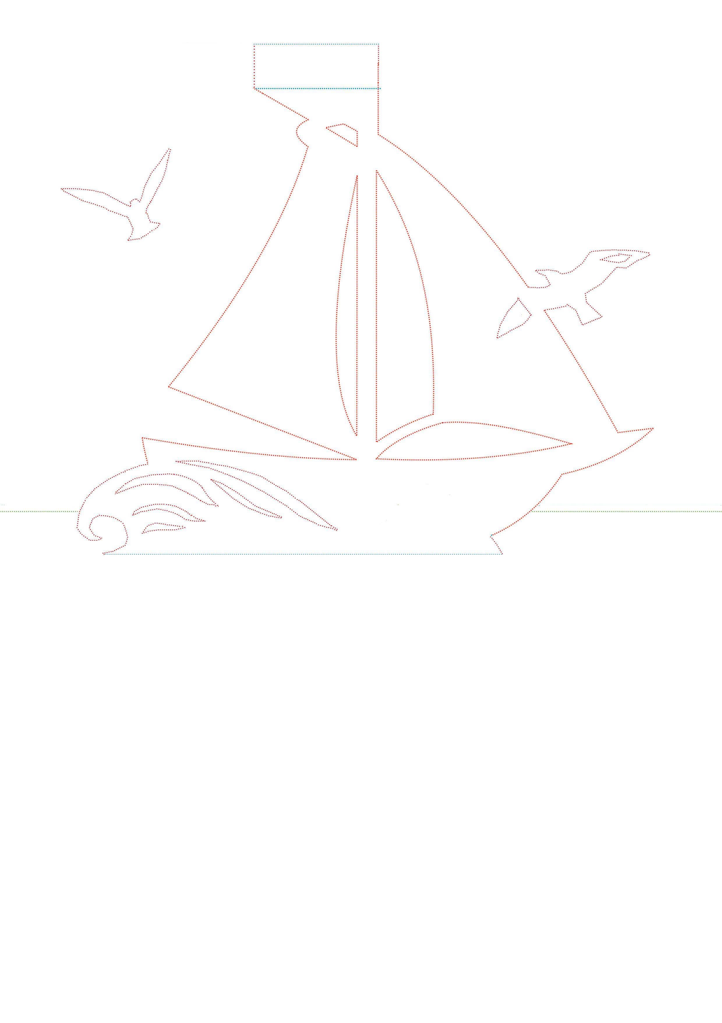 шаблон открытки корабль на 23 февраля лучше установить