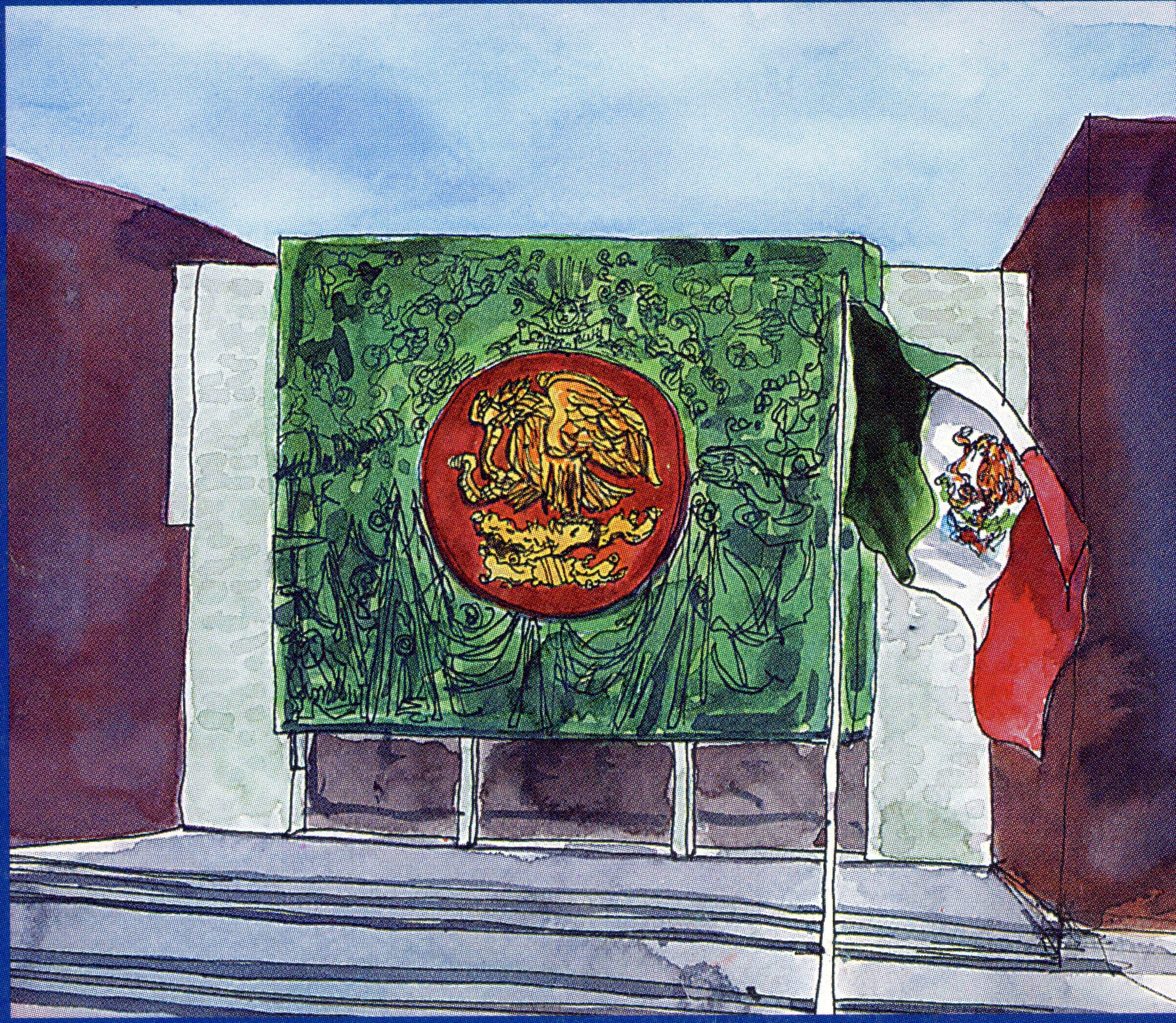 Pintura De La Camara De Diputados Edificios Diputados Camas