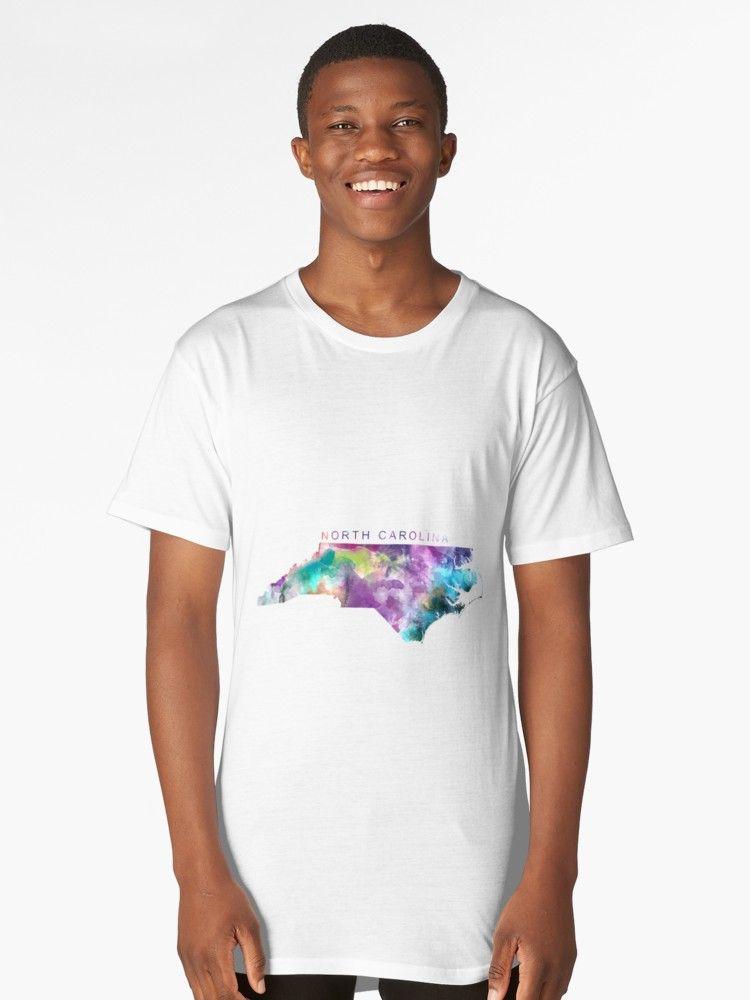 Usa Map North Carolina%0A North Carolina  northcarolina  unitedstates  usa  map  art  print  long