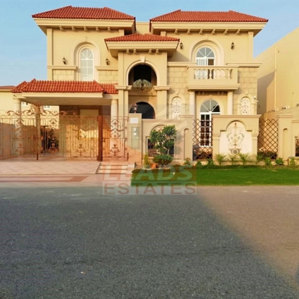 Kanal Galleria Spanish Design Bungalow In Dha Lahore Top Real Estate Companies Bungalow Spanish Bungalow