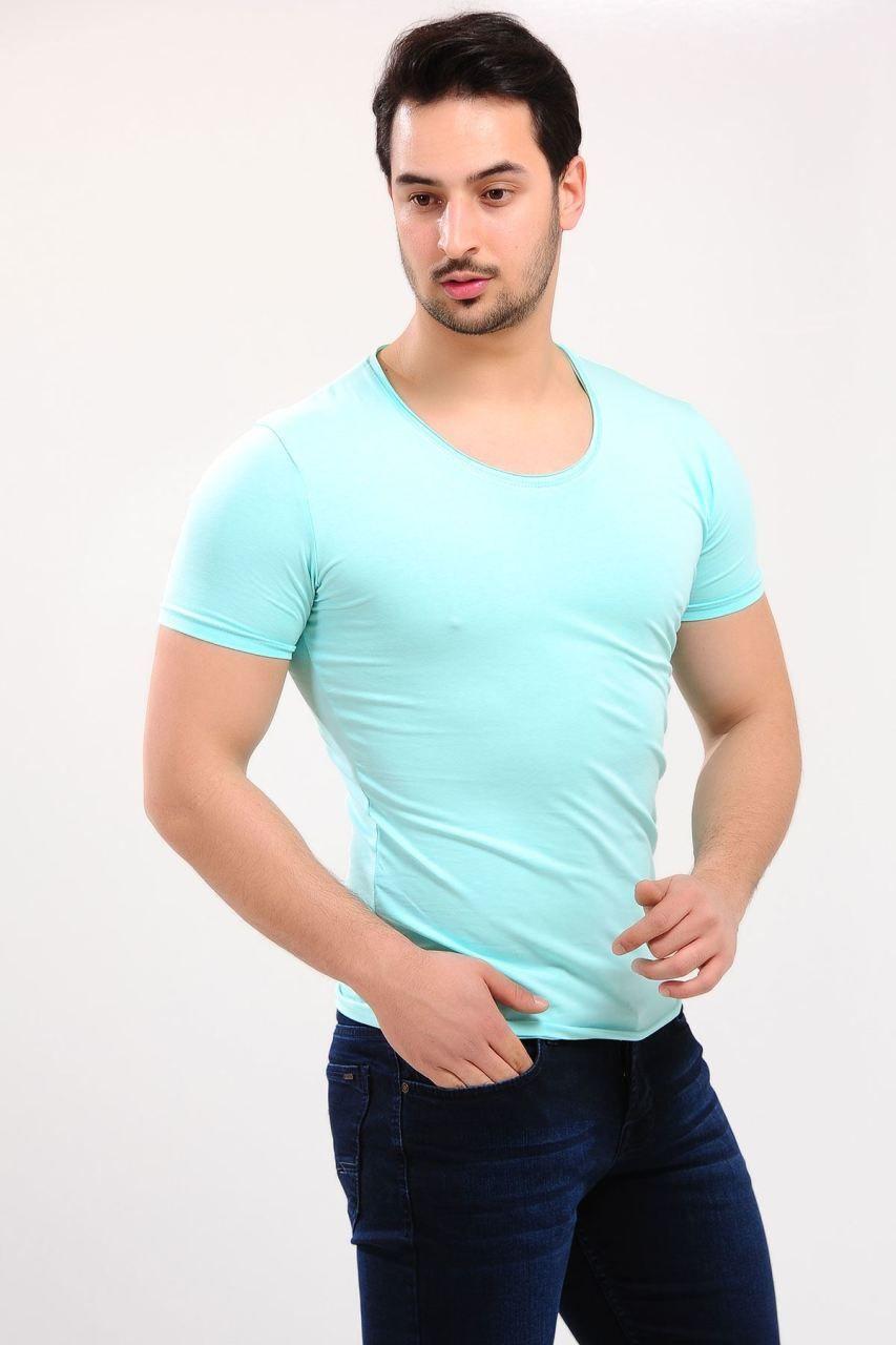 U Yaka Basic Nilyesili T Shirt Giyim Indirim Kampanya Bayan Erkek Bluz Gomlek Trenckot Hirka Etek Yelek Mont Kase Mens Tops Mens Tshirts T Shirt