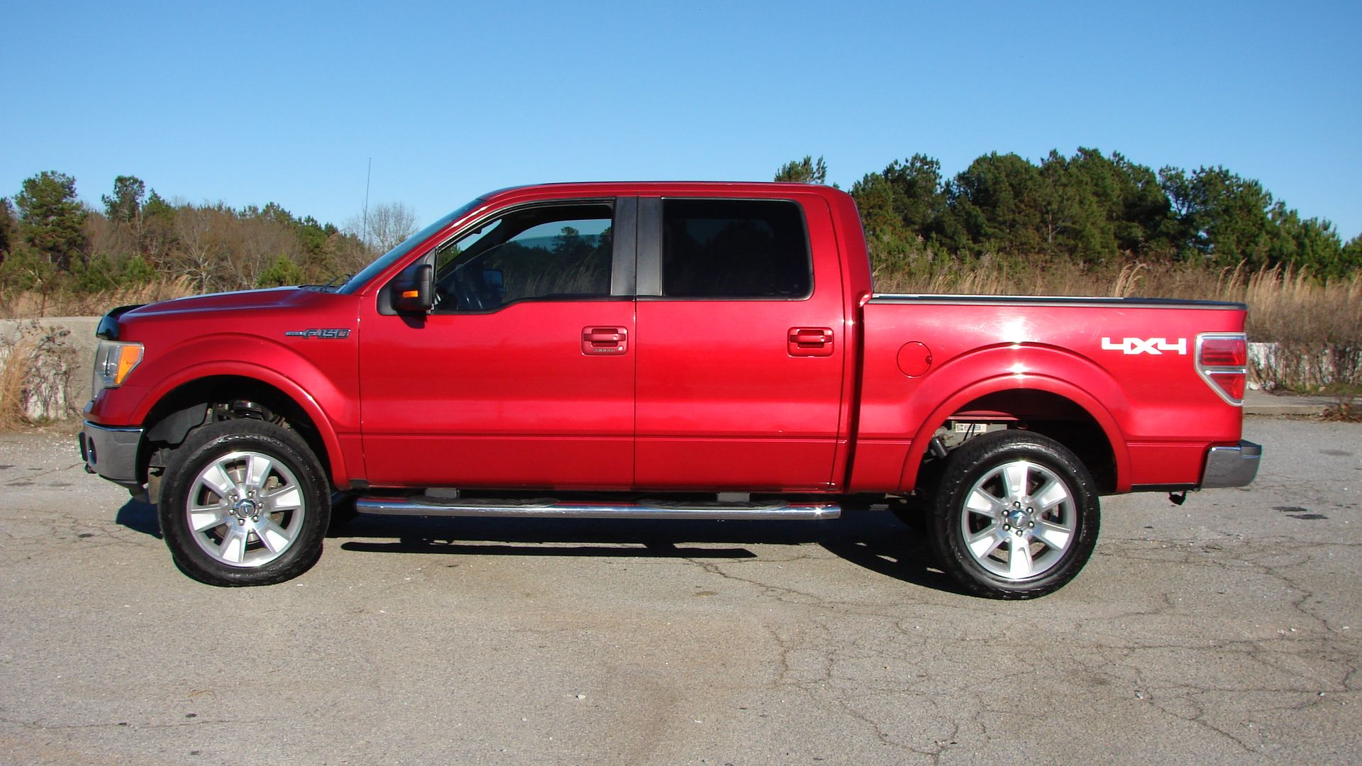 2010 Ford F 150 4x4 Lariat With A 5 4l 8 Cylinder Flex Fuel