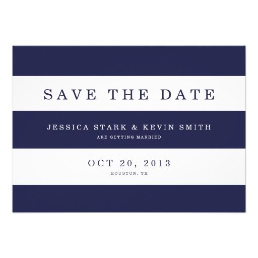 See MoreChic Navy Stripes Save the Date Custom AnnouncementYes I can say you are on right site we just collected best shopping store that have