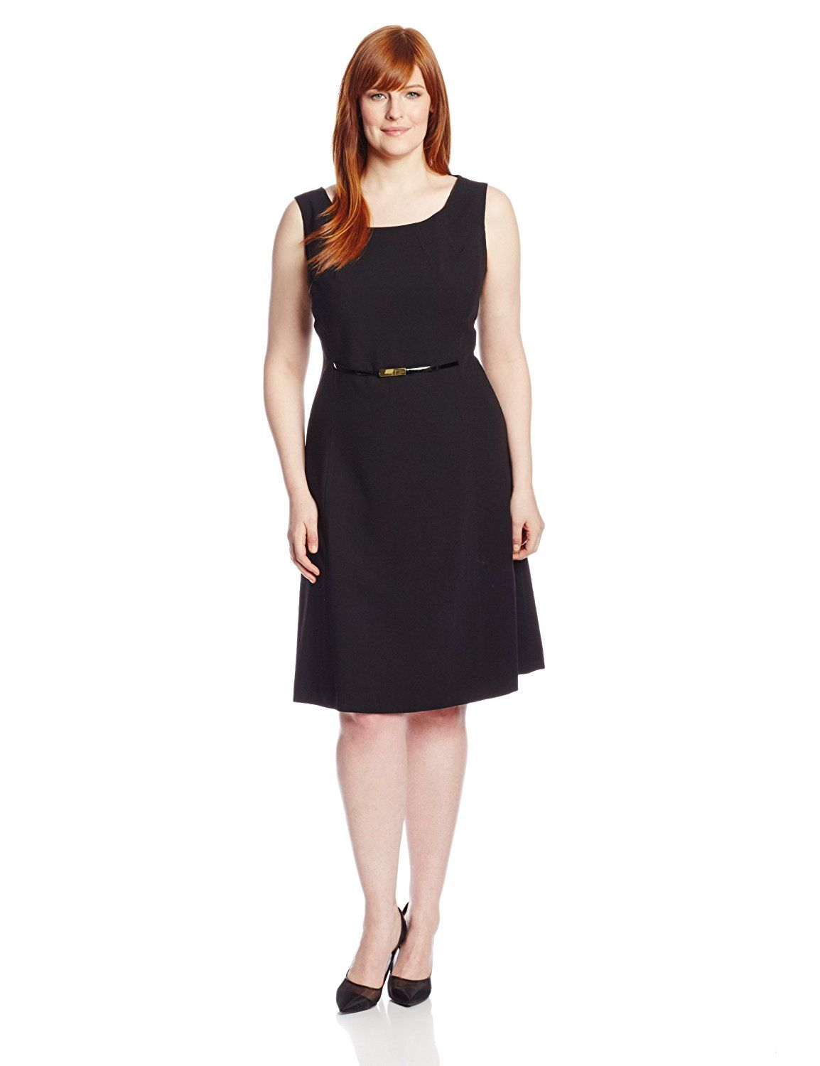 Jones New York Women\'s Plus-Size Fit and Flare Dress *** Check out ...