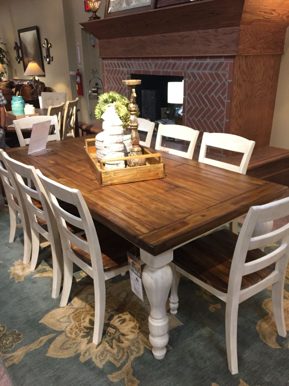 Table Set From Ashley Furniture Dining Furniture Dining Rug Kitchen Table Makeover
