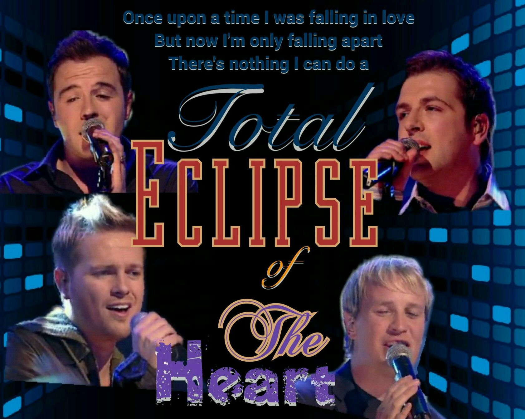 Westlife Total Eclipse Of The Heart