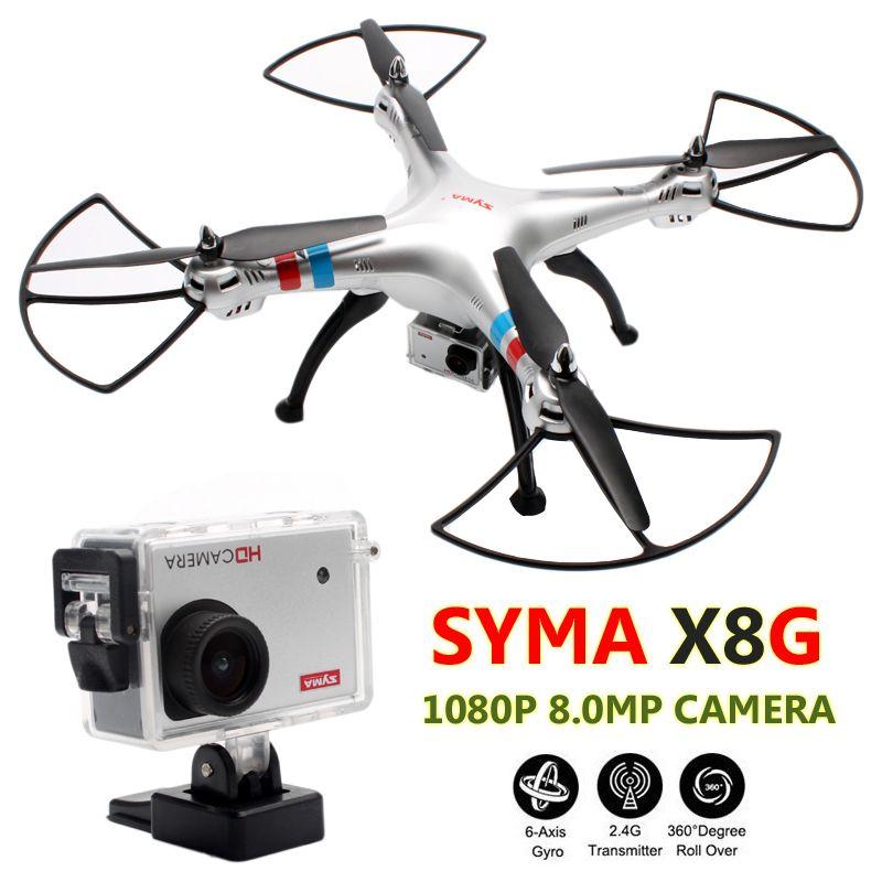Syma X8G Quadrocopter 6 Axis Big Quadcopter Camera Remote Control Helicoptero RC Drones Com