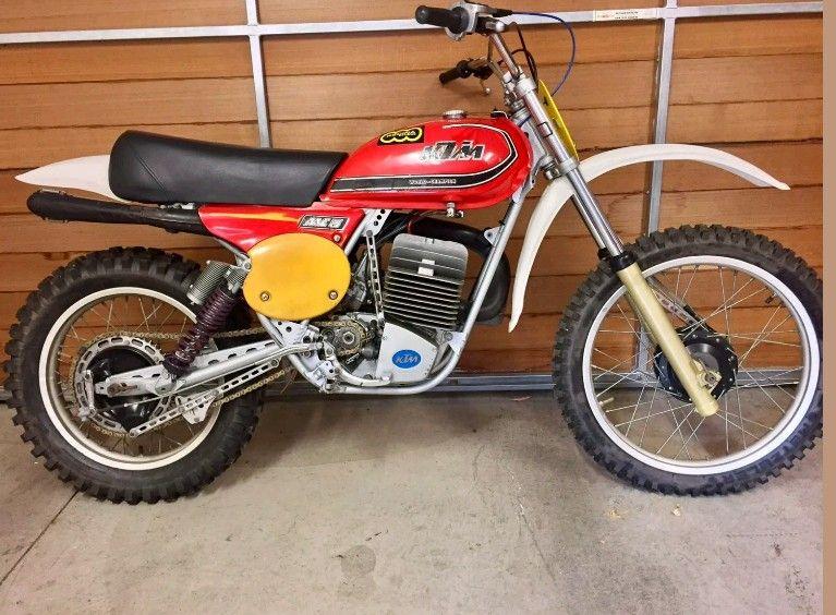 Ktm 250 1977 Ktm Motocross Racing Ktm Motocross