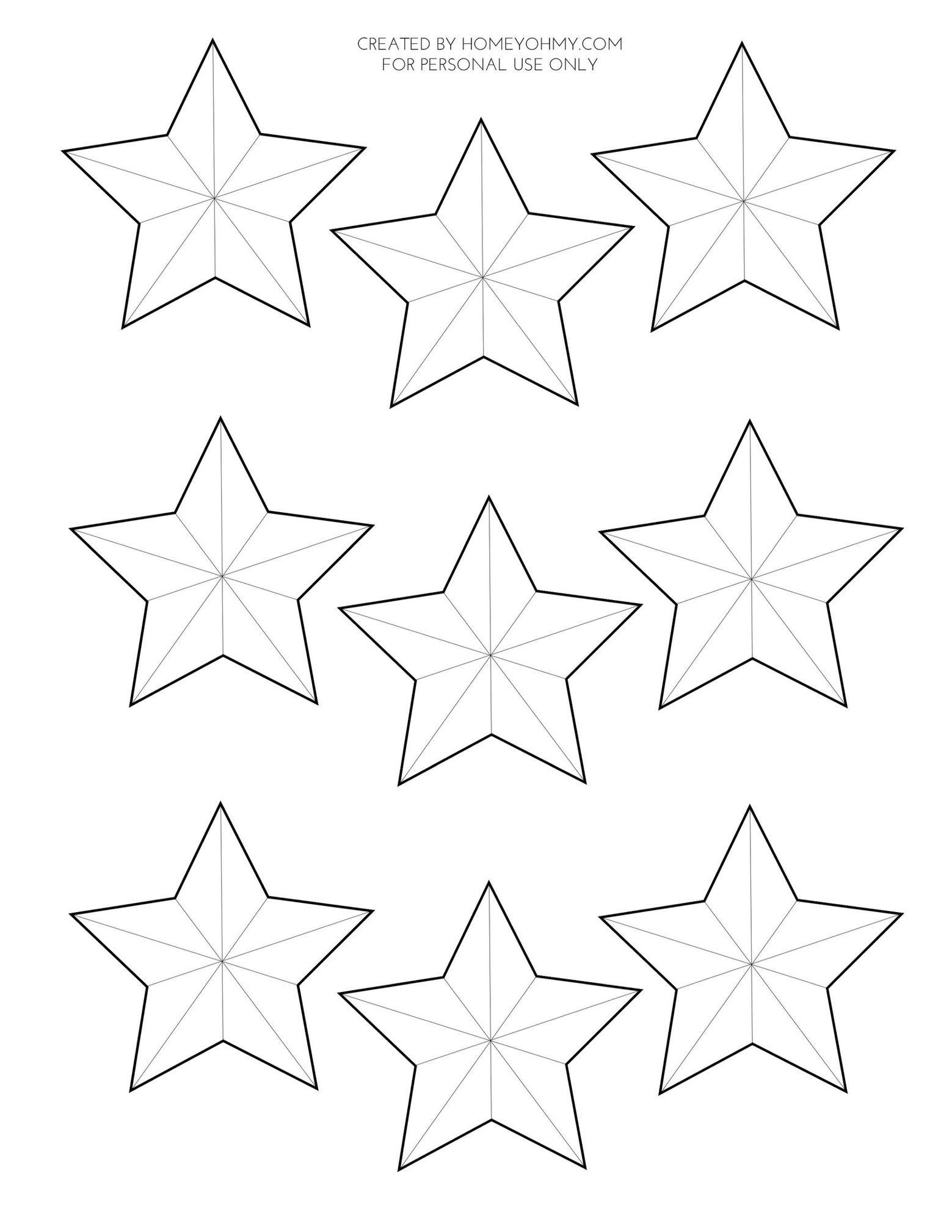 Шаблон звездочек для открытки, сделать хорошую открытку