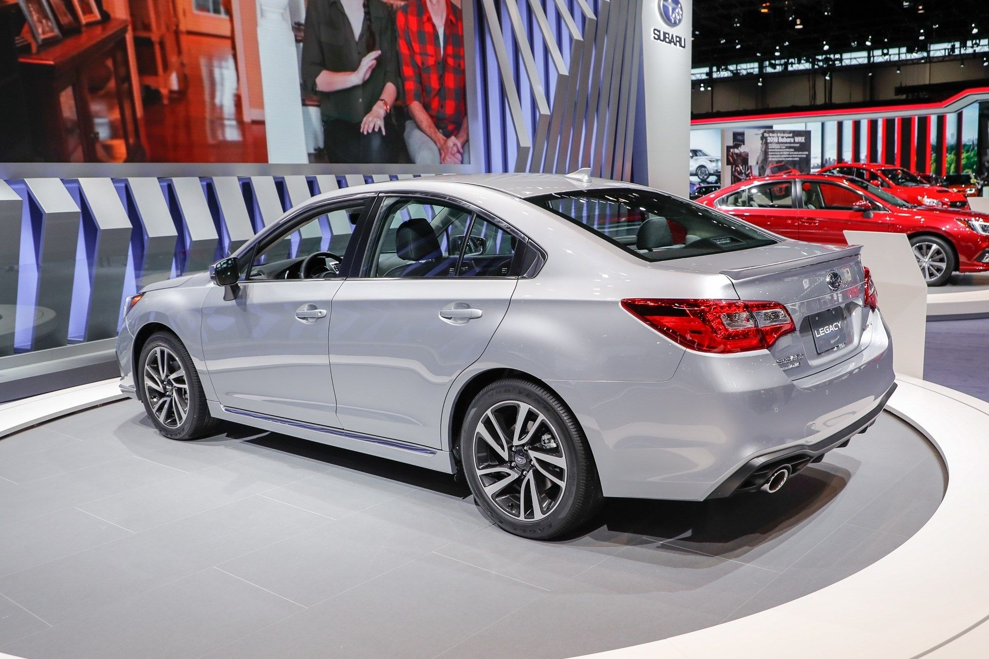 2018 Subaru Legacy Specs And Review
