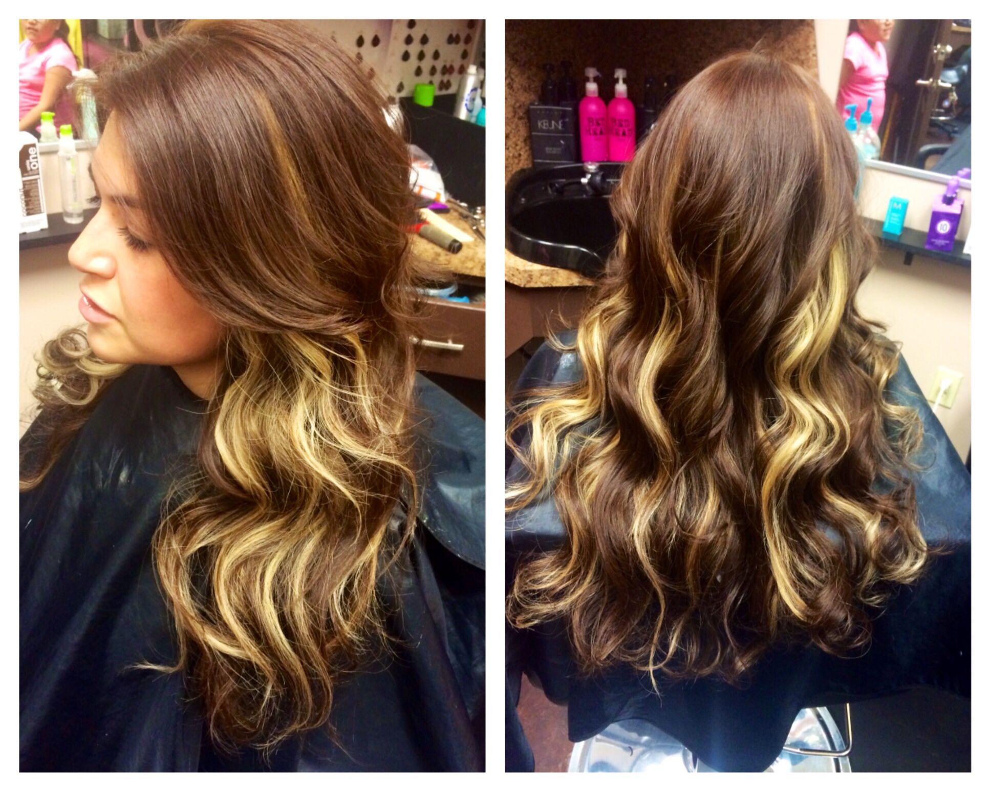 Peekaboo Hair Styles: Peekaboo Highlights #HairFairy