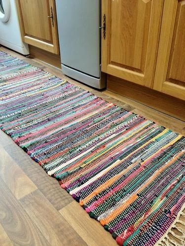 Fab Recycled Hand Loomed Multi Coloured Cotton Rag Rug Runner 60cm X 240cm Ebay