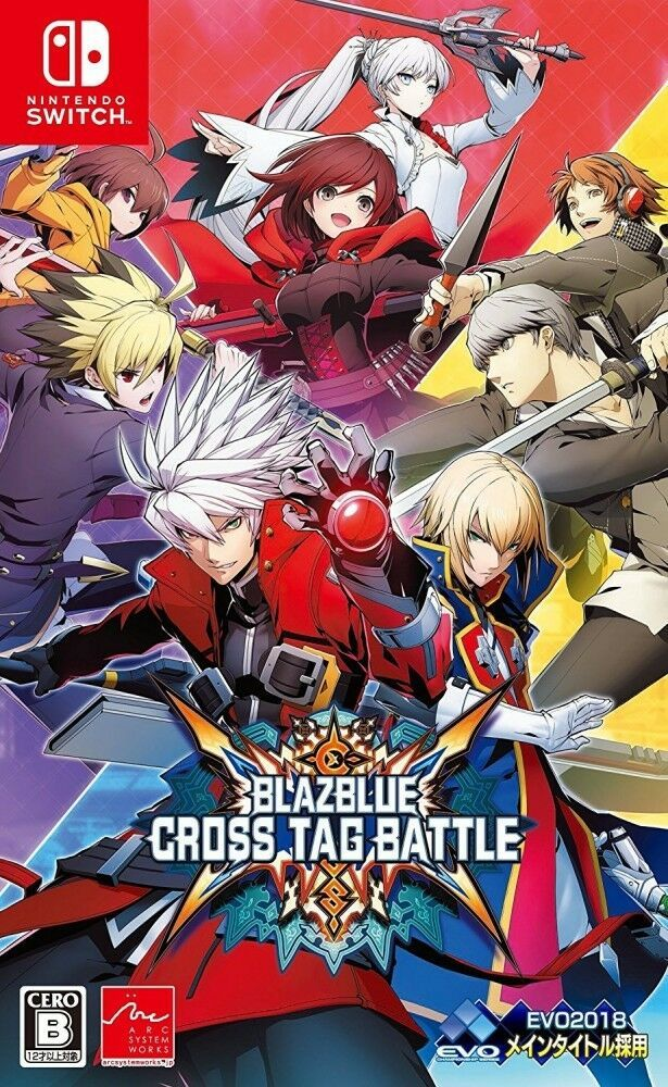 New Nintendo Switch BLAZBLUE CROSS TAG BATTLE Japan HACP