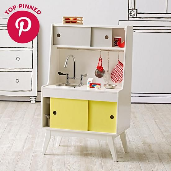 Future Foodie Play Kitchen Sink | The Land of Nod | KIDS ROOM ...