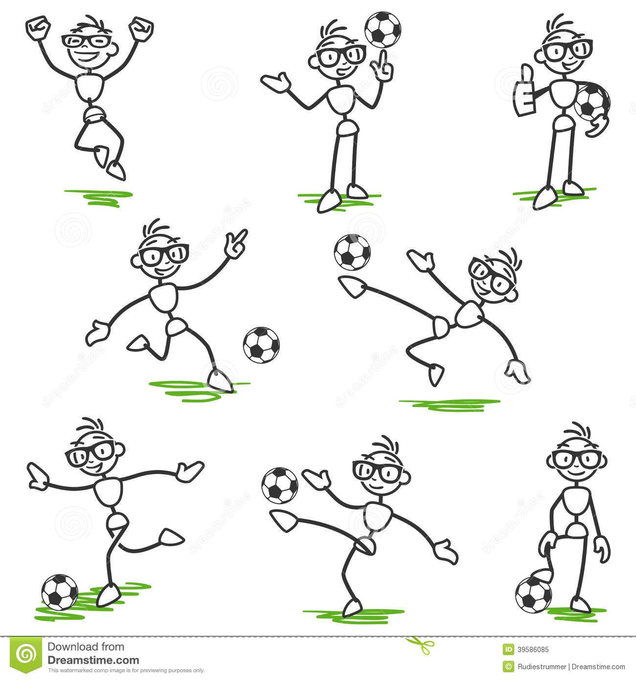 Image From Http Thumbs Dreamstime Com Z Stick Figure Stickman Soccer Football Player Set Vector Figures Pla Stick Figures Stick Figure Drawing Demon Drawings [ 1390 x 1300 Pixel ]