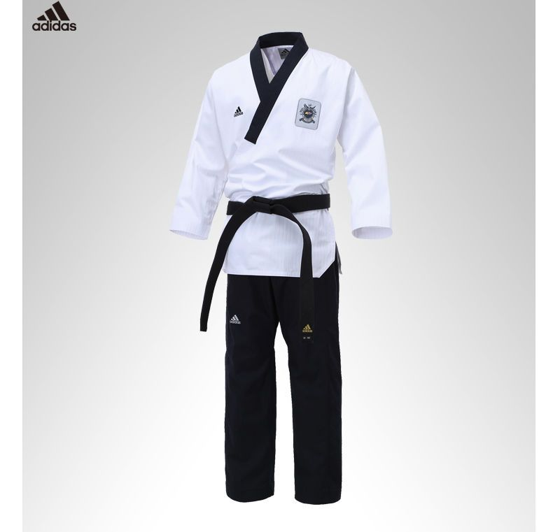 Mooto Fighter Black Belt Taekwondo Hipkido Tae Kwon Do Competition Korea WTF TKD