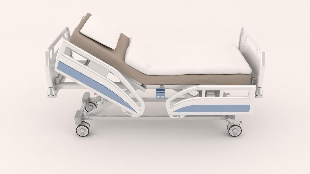 3d Model Hospital Bed Turbosquid 1459695 Hospital Bed Hospital 3d Model