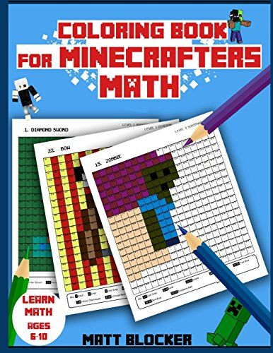 From 2.82 Coloring Book For Minecrafters: Math Coloring Book ...