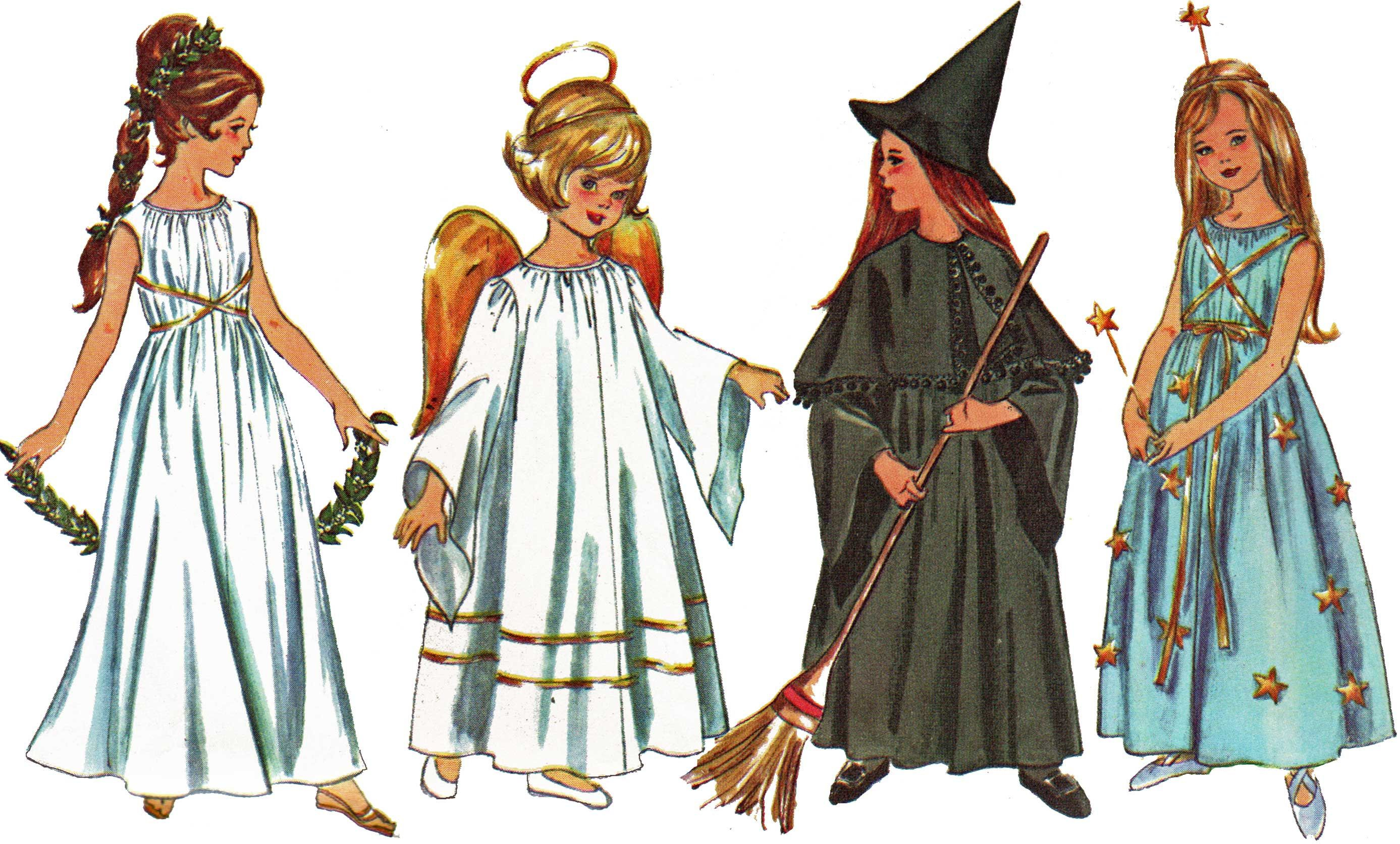 Witch Costume Pattern Magnificent Design