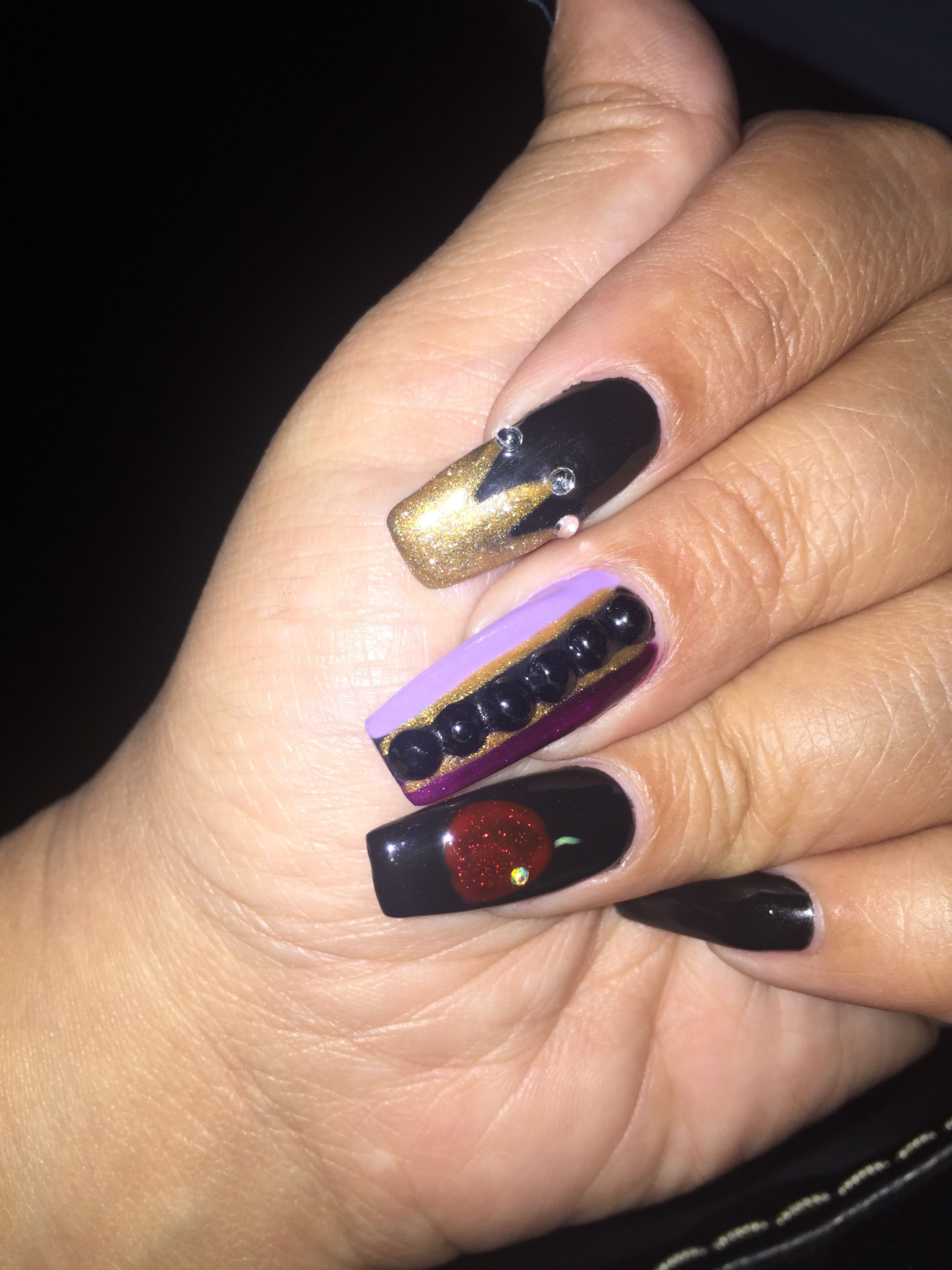 Evil queen nails | Nails | Pinterest | Evil queens