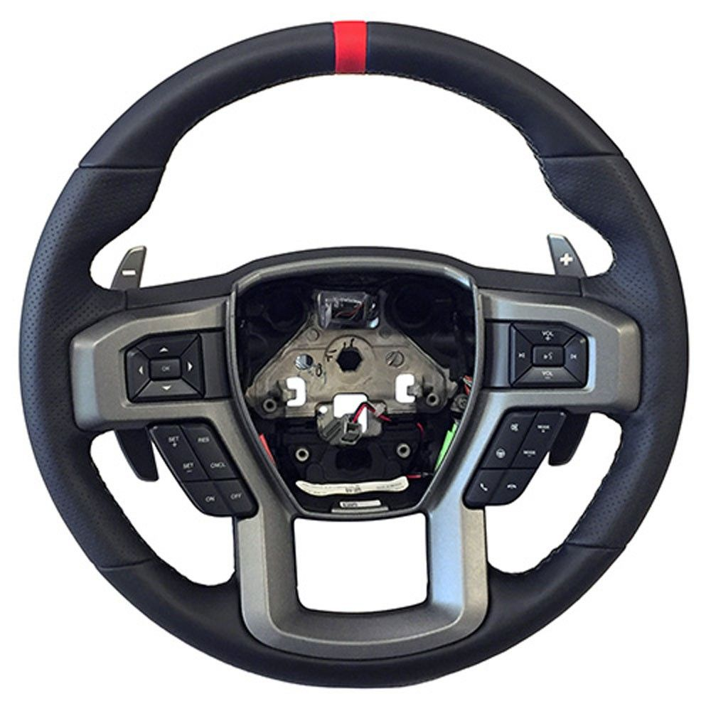 Ford Performance 2017 2020 Raptor Steering Wheel With Red Sight