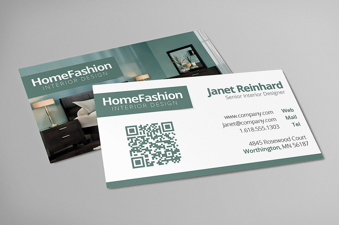 Interior Design Business Cards Photoshop Files Designed Interior