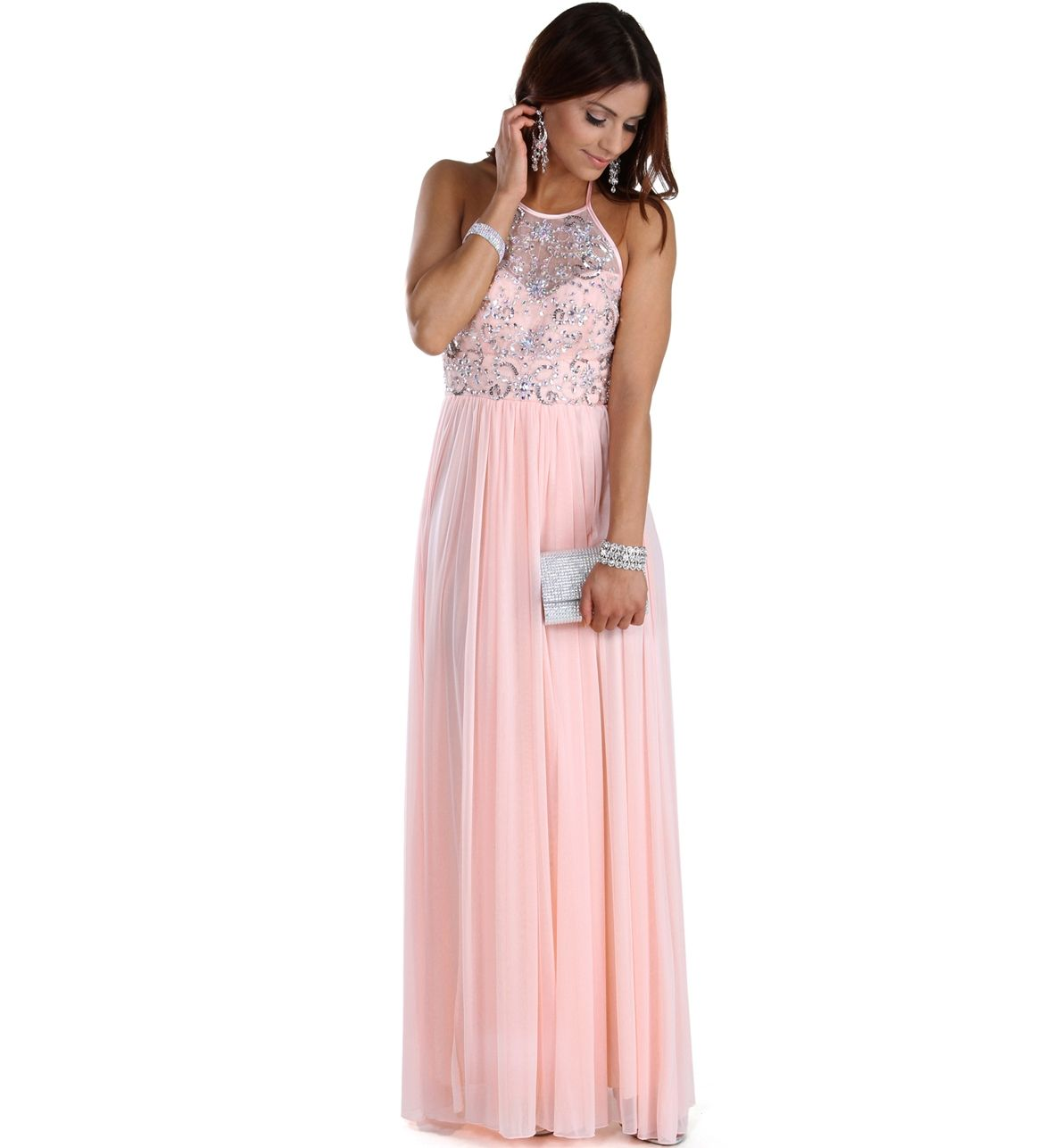 Tierra-Pink Prom Dress | fashionista | Pinterest | Vestiditos