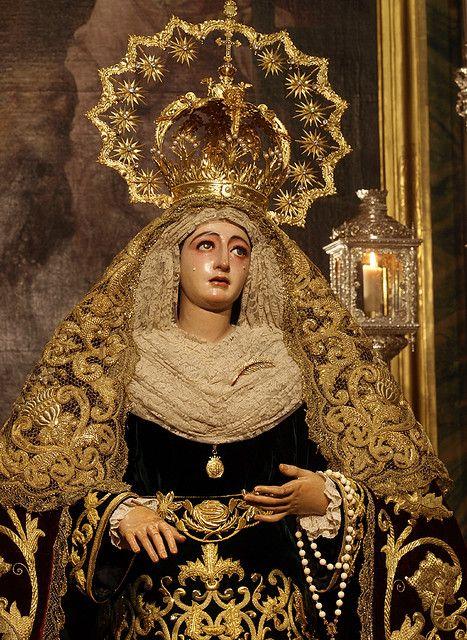 Madre de Dios de la Palma (Hdad del Cristo de Burgos,Sevilla) Festividad de la Inmaculada.