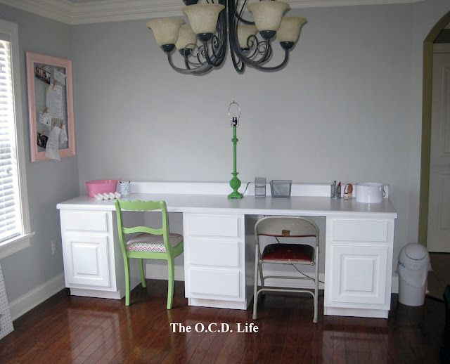 Best The O C D Life White Office Desks Made From Kitchen 400 x 300