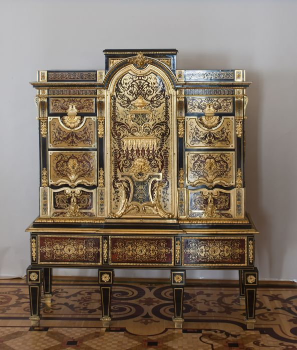museum f r angewandte kunst ausstellung andr charles boulle 1642 1732 ein neuer stil f r. Black Bedroom Furniture Sets. Home Design Ideas