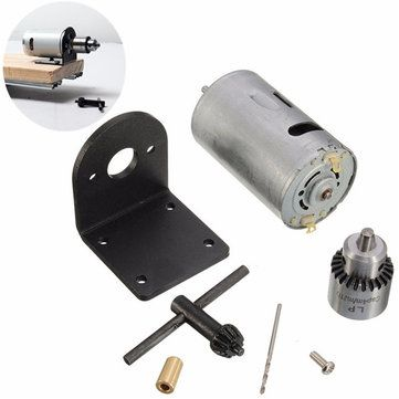 Only Us 11 99 Buy Best 12 24v Lathe Press Motor With Drill Chuck