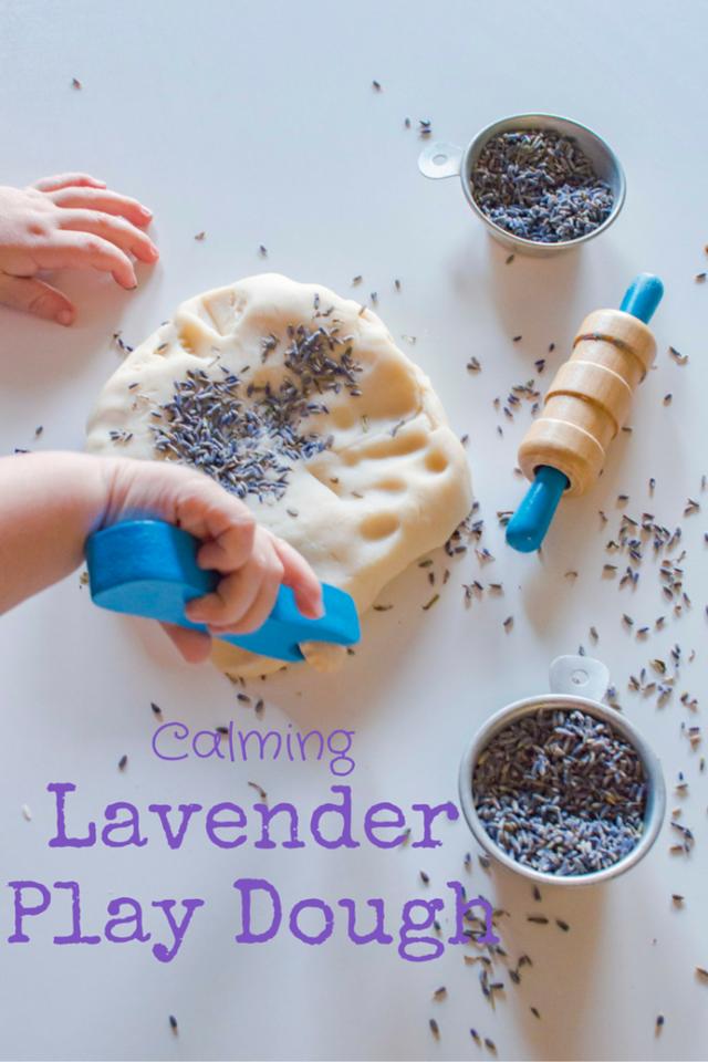 Calming Lavender Play Dough   Super Healthy Kids   Bloglovin'