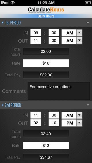 New iphone and android apps Annieu0027s Pinterest Android apps - hourly timesheet calculator