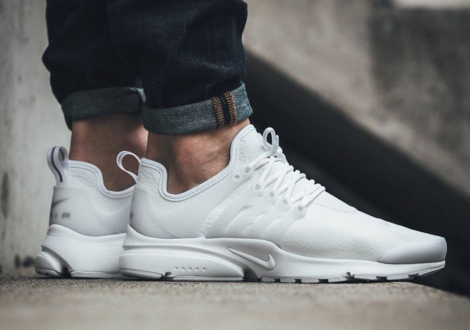 check out f19b0 38225 Nike Air Presto White Leather 878071-101   SneakerNews.com