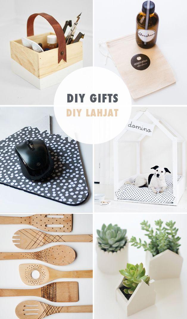 18 DIY gift ideas - great looking stuff! | BDE