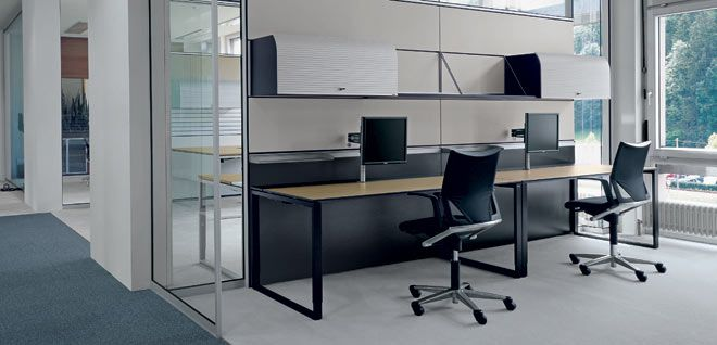 bene office furniture. Table Bene T-Workstation - Office Furniture