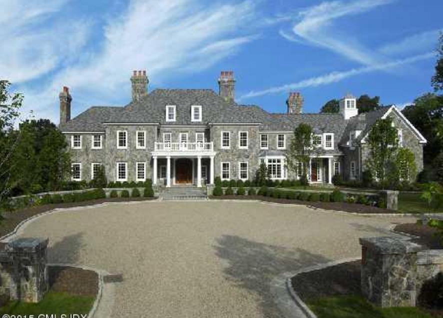 14 25 Million 15 000 Square Foot Georgian Stone Mansion In Greenwich Ct Stone Mansion Mansions Georgian Mansion