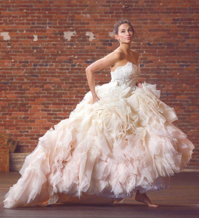 Lazaro wedding gown Style 3450 / Seattle Detail Work: 10 Exquisite ...