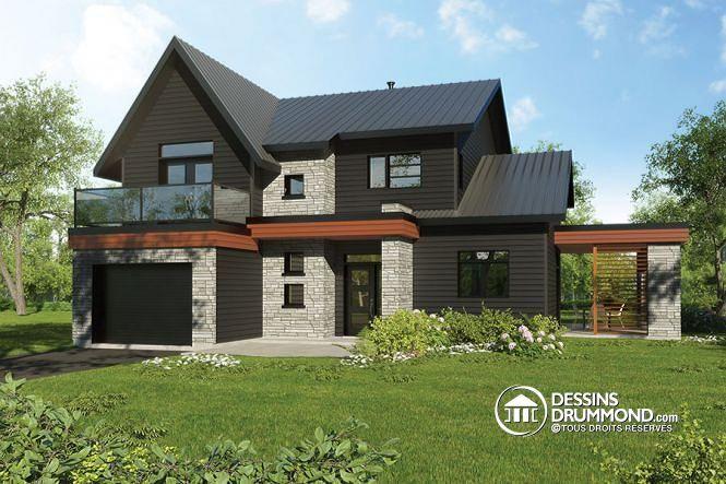 W3723-DJG - Maison saine permettant des panneaux solaires sur le ...