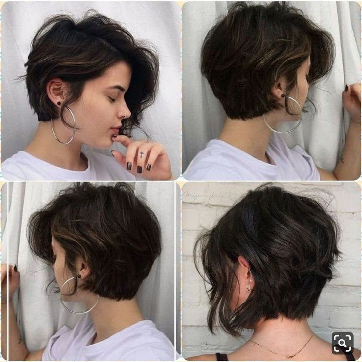 How do I describe this hairstyle to my stylist? – #haircut short #haircut medium long …