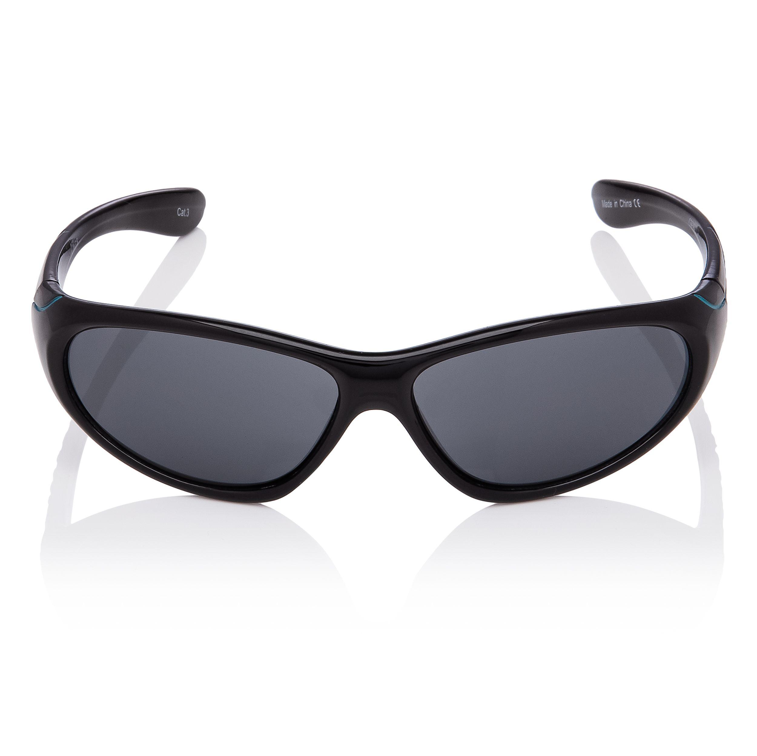 Black Kids Children Sunglasses Boys Girls Wraparound Shades Fashion Glasses UK
