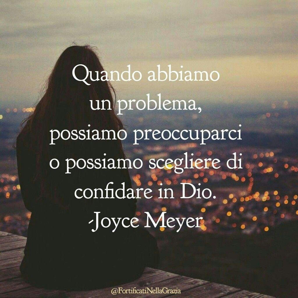 Très preoccupazioni #JoyceMeyer #citazioni #frasicristiane #motivazione  HY69