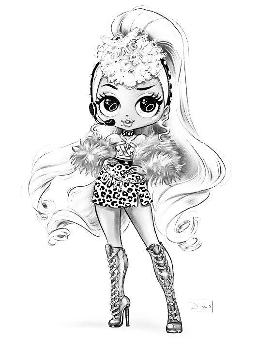 Pin By Jojo Aponte On Novye Lol Lol Raskraska 5 Seriya 6 Seriya 7 Seriya Kawaii Girl Drawings Lol Dolls Cute Coloring Pages