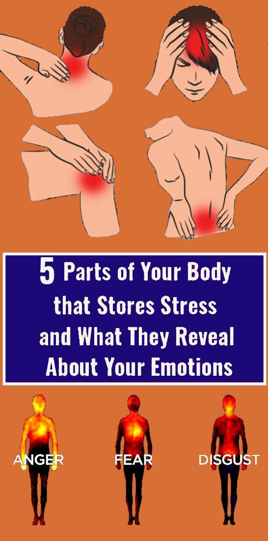 When there are emotional pains, these are some of the areas where you might feel an aching sensation is part of Health diet -