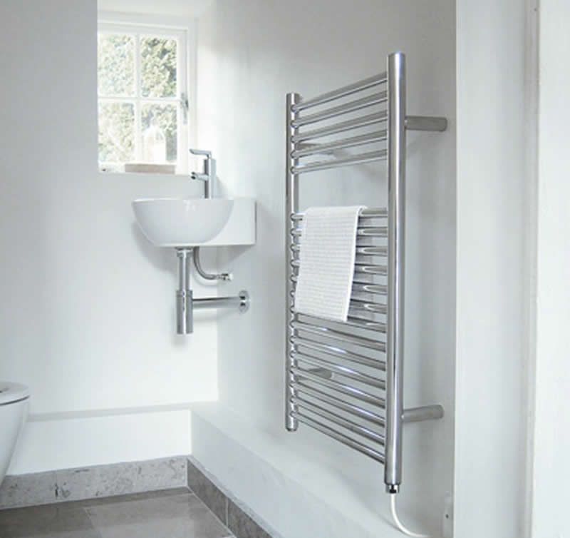 Heated Towel Rails Bathroom Interior Design Ideas Jis Europe Biscay Worth Trying For More Storage Ideas