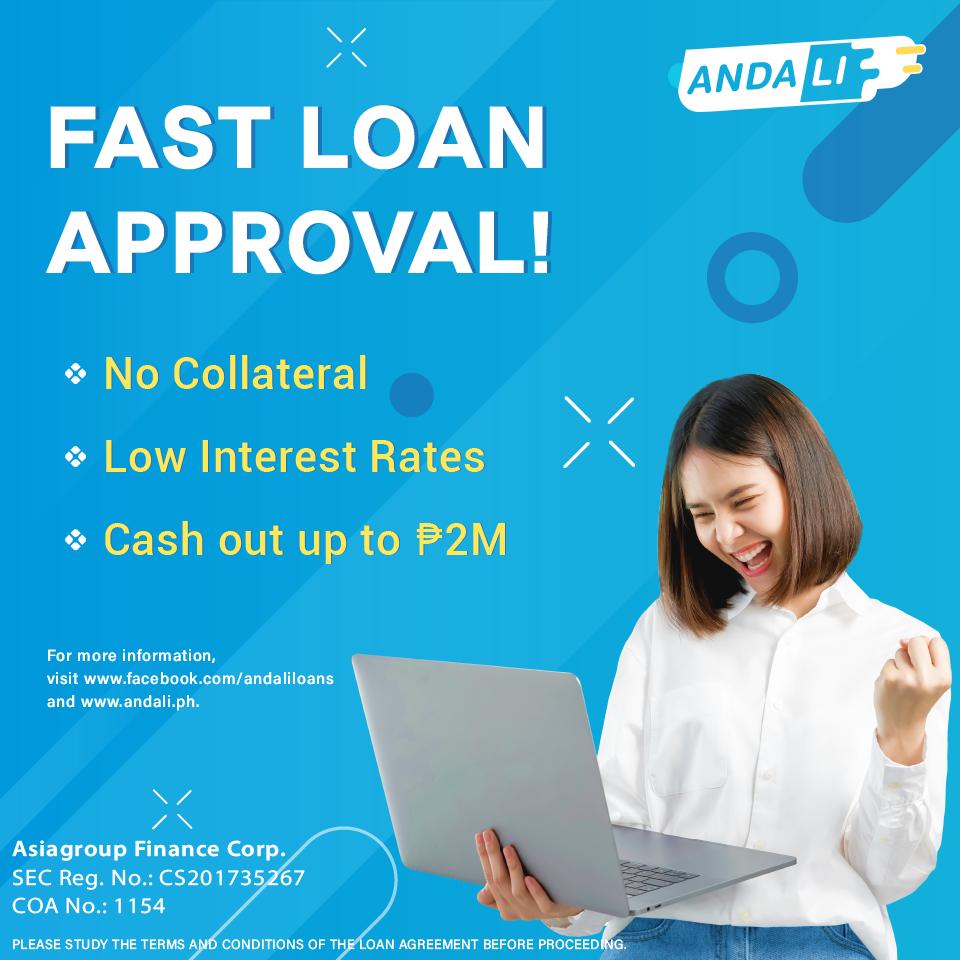 Fast Loan Approval With Andali Fast Loans Finance Loan