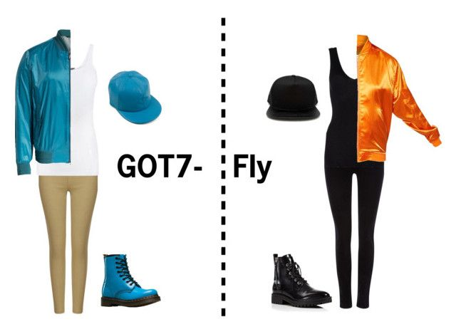"""""""{GOT7} Fly"""" by jiminsjams163 on Polyvore featuring Vince, Brioni, Dr. Martens, Maison Scotch, Hanro, Kendall + Kylie and Forever 21"""