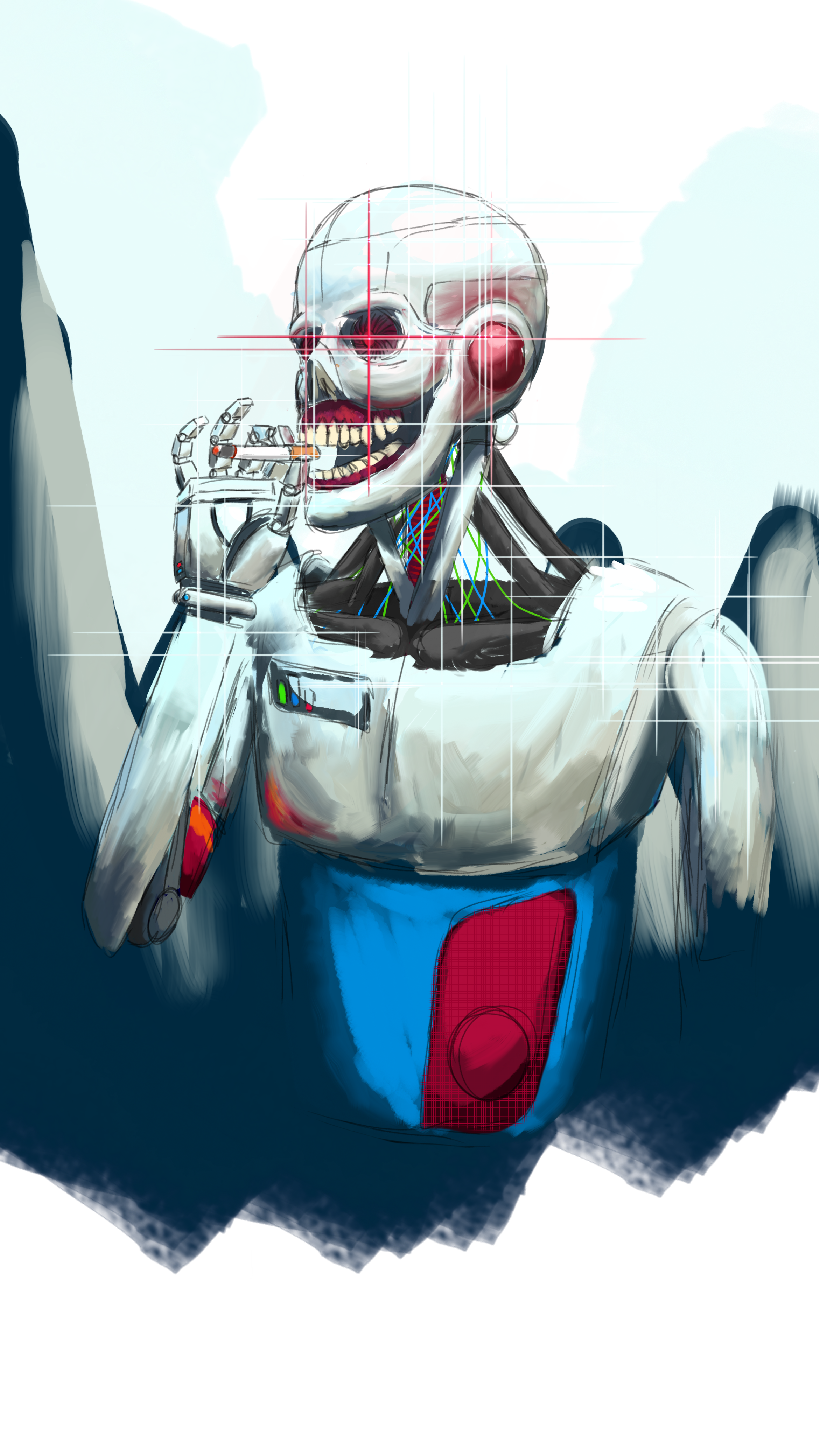 Digital Skeleton Skeleton, Me, Digital, 2019 Skeleton