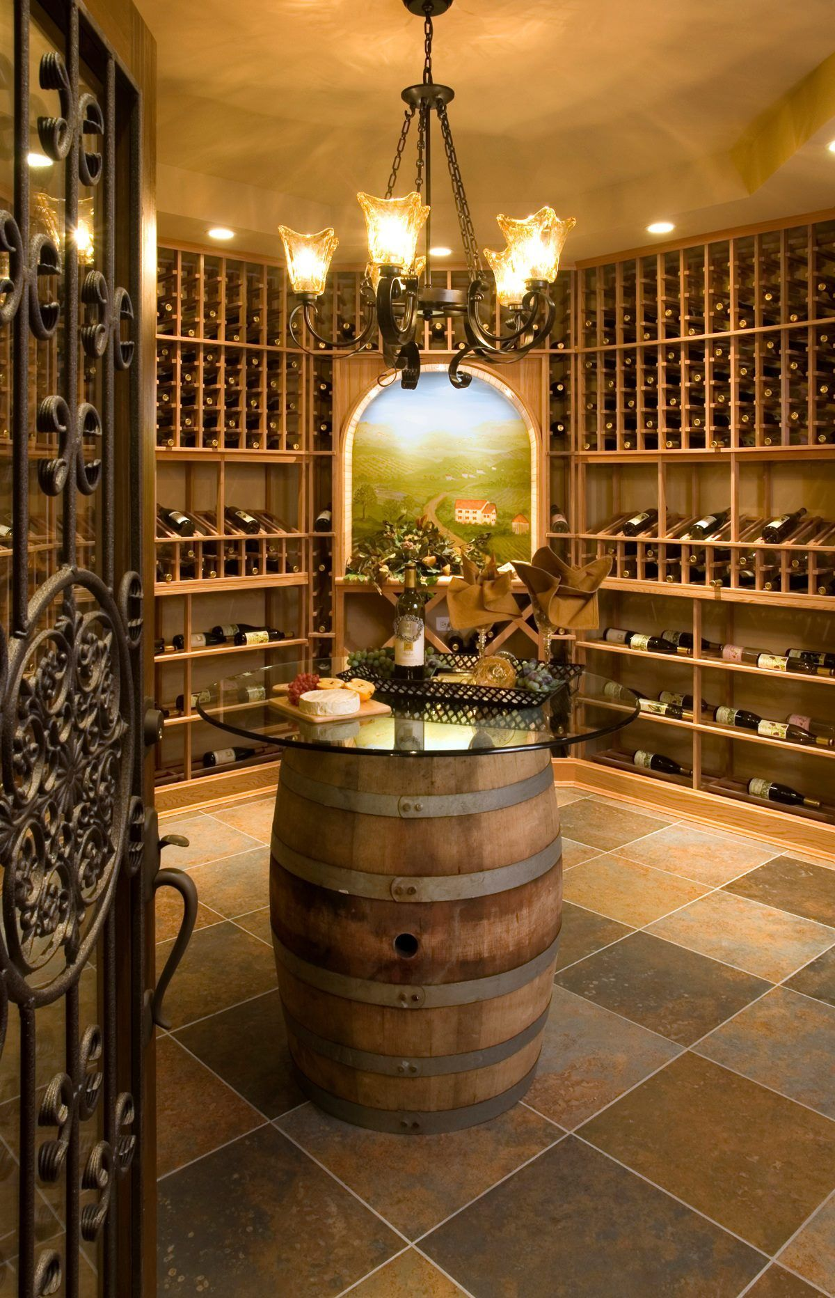 Amazing wine cellar that will brighten anyones house & Amazing wine cellar that will brighten anyones house | Campo ...
